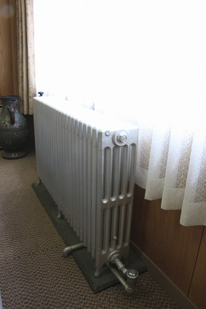 蒸気暖房 写真素材