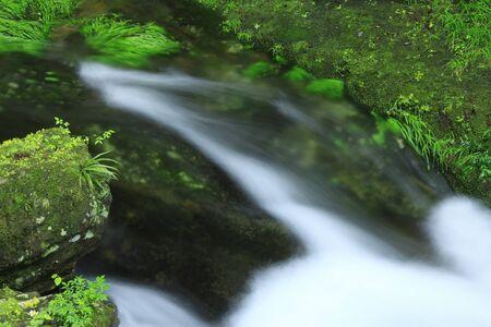 Akame 48 falls ravine