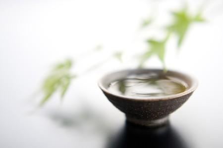 beverage display: Sake cup