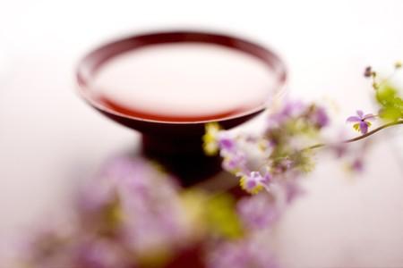 sake: Sake and Thalictrum rochebrunianum