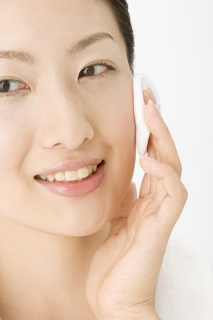 Face of Japanese woman Stock Photo - 6842893