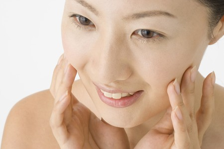Face of Japanese woman Stock Photo - 6842871