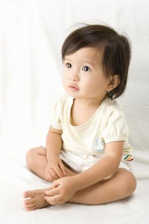 Japanese Baby Stock Photo