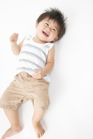 Smiling Japanese Baby