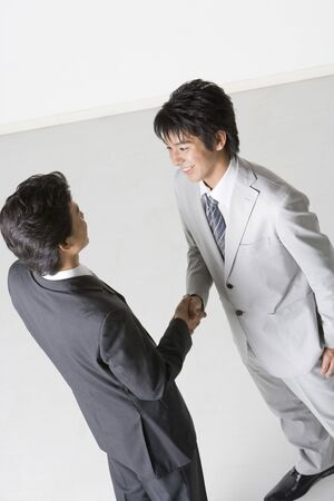 concluded: Partner Stock Photo