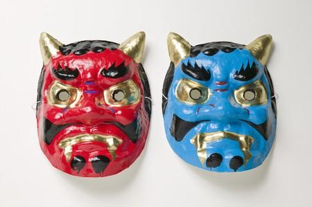 ogre: Mask of ogre Stock Photo