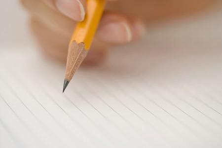 fema: Pencil Stock Photo