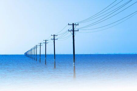utility pole: Utility Pole Stock Photo