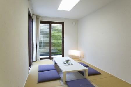 sty: Japanese-Style Room Stock Photo