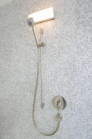 powder room: Ducha