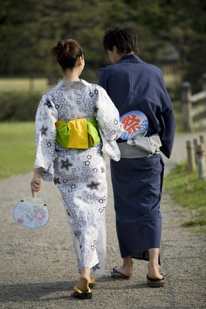 Yukata lover Banco de Imagens