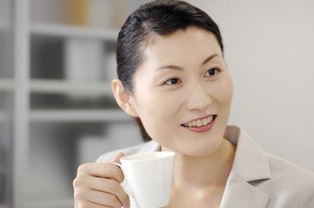 entracte: D'affaires pr�t � boire le caf�
