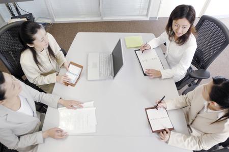 Meeting scene Imagens