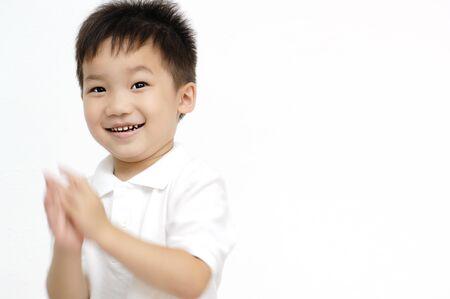 exhilaration: Boy clap your hands