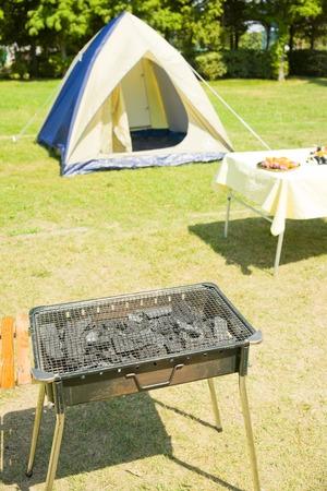 campsite: Campsite Stock Photo