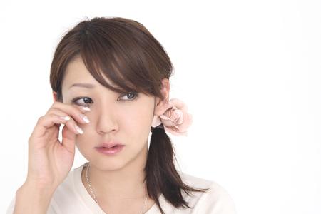 lacrime: Le donne asciugare le lacrime