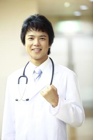 남성 의사 초상화