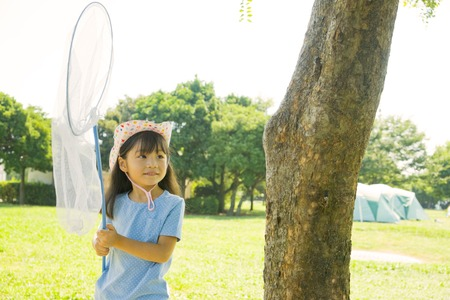 moth: Girl with a moth network