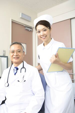 Male doctors and nurses Stock Photo