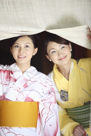 goodwill: Yukata women who evade the goodwill