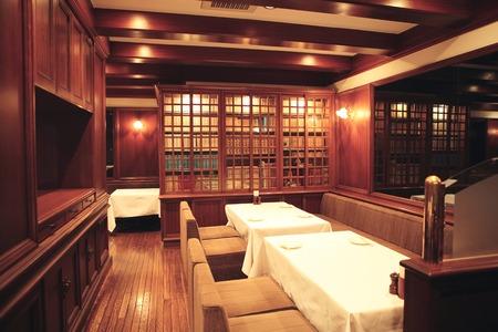 レストランのイントロスペクション 写真素材