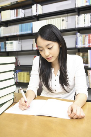 Students to study in the library