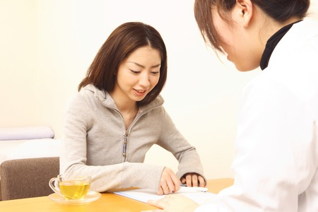 Women receive counseling