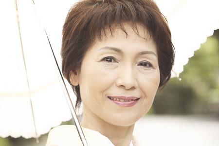 doings: Kimono woman who parasols