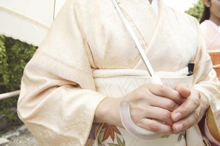 hold ups: 2 go kimono woman