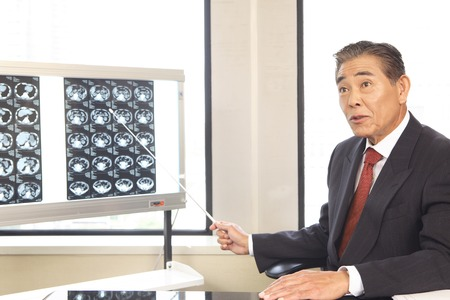 Doctor that described with reference to X-ray