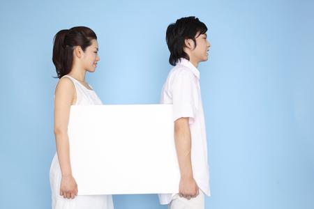 message board: Couple having a message board