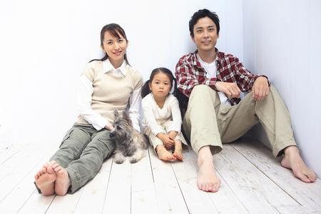 japanese family: Family portrait