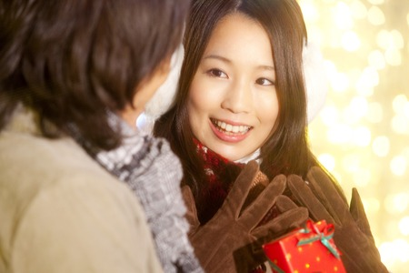 rejoice: Women who rejoice in Christmas gifts from men