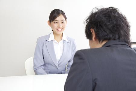 Women interview