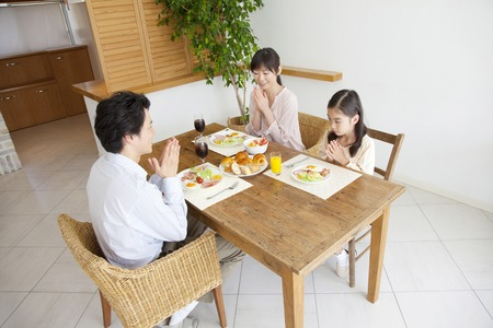Family to take breakfast