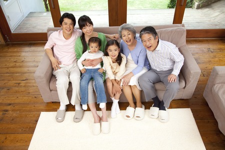 3 generations: 3-generation family.
