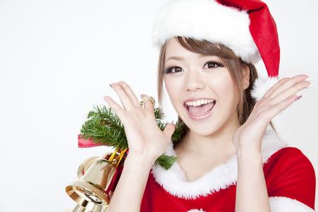santa girl: Santa Girl smile