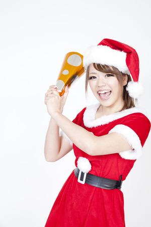 santa girl: Santa girl sounds crackers