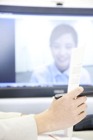 teleconference: OL TV calls a meeting