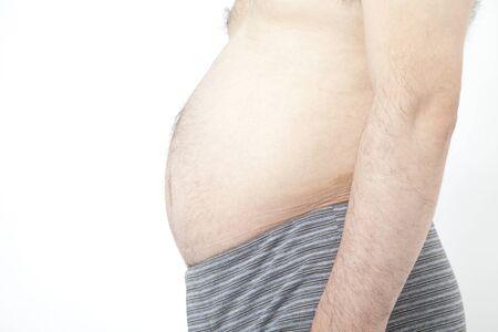age forty: Metabolic tummy Stock Photo