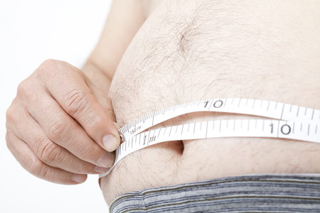 circumference: Metabo man to measure the waist circumference