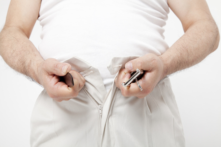 metabolic: Tighten the belt metabolic syndrome man