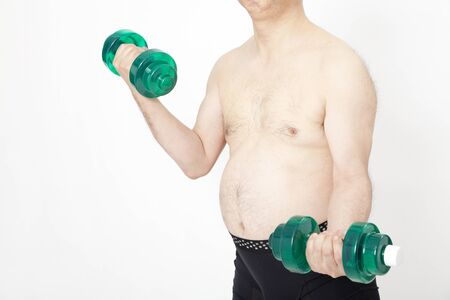 muscle training: Metabo Menschen zum Muskeltraining Lizenzfreie Bilder