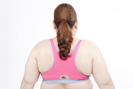 From behind the metabolic syndrome women Stock Photo