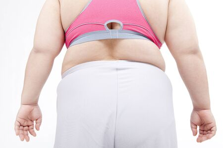 metabolic: From behind the metabolic syndrome women Stock Photo