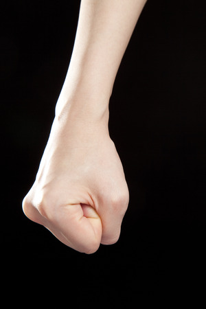 clasping: Fist clasping