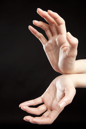 qigong: Womens hands