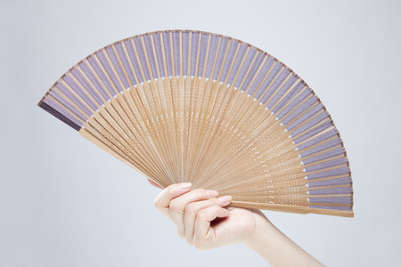 Hand fan Stock fotó