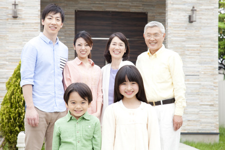 Of large families smile