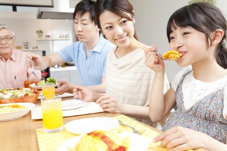 Parentchild maaltijd
